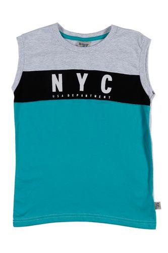 Camiseta Regata Juvenil para Menino - Vermelho cinza a30164a0e4c