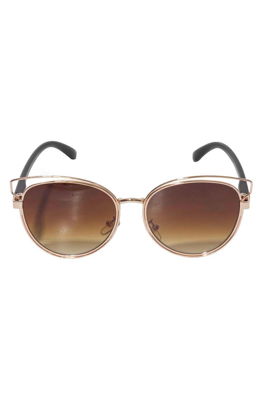 991a12a9c Óculos de Sol Rosé Lente Marrom - Moda it