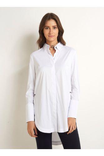 8b120b825 Camisa em Feminino - Roupas - Blusas - Camisa BRANCO – Moda it