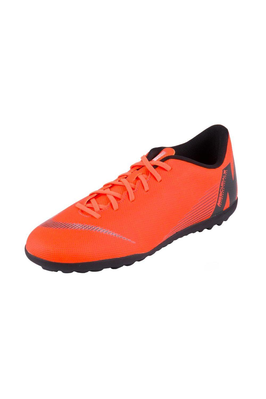 84d724d241e14 Chuteira Nike Society Mercurial Vaporx 12 Club Tf Laranja Branco ...