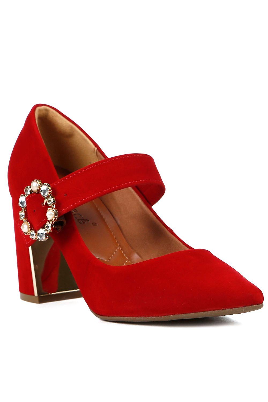 2e1bf6f3bd Sapato de Salto Scarpin Feminino Bebecê Vermelho - Moda it