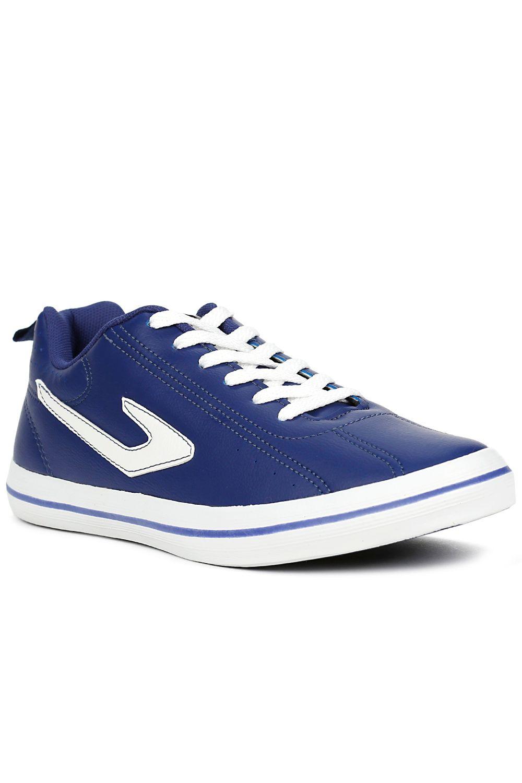Tênis Futsal Masculino Topper Dominator L. E. Azul marinho branco ... 2ae96c1a366e5