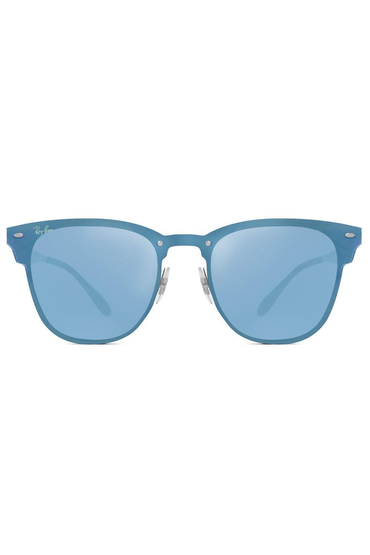 9df55f81cca52 Óculos de Sol Ray Ban Blaze Clubmaster RB3576N-9039 1U-47 - Moda it