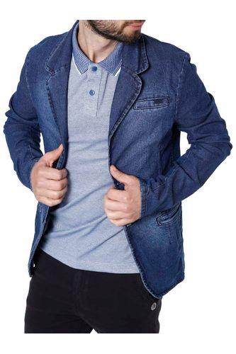 52604b697 Blazer Jeans Masculino Bivik Azul - Moda it