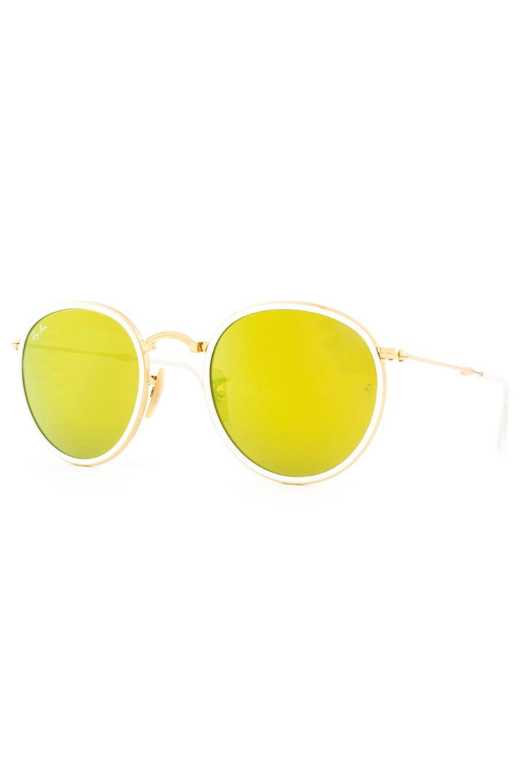 b4a93b8a76923 Óculos de Sol Ray Ban Round Folding Dobrável RB3517 001 93-51 - Moda it