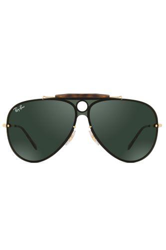 d4eb55957d7cf Óculos de Sol Ray Ban Blaze Shooter RB3581N 001 71-32