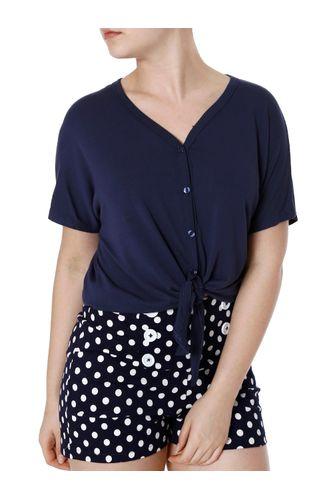 82837b406d2 Feminino - Roupas - Blusas - Camisa AZUL – Moda it