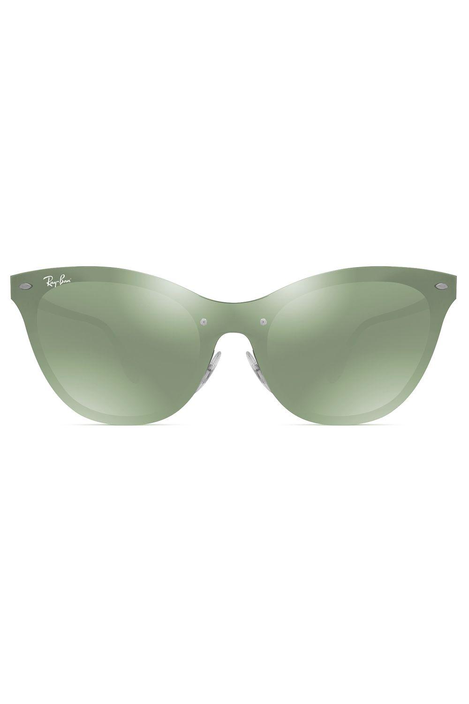 25178381821de Óculos de Sol Ray Ban Blaze Cat Eye RB3580N 042 30-43 - Moda it