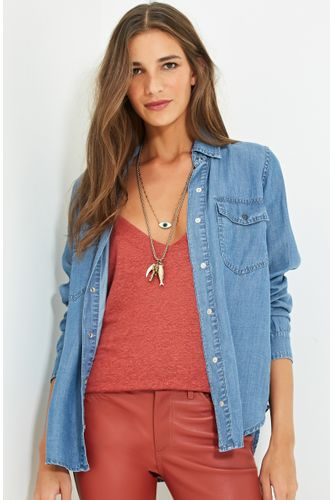 2a8d46a4674ac Feminino - Roupas - Blusas - Camisa – Moda it