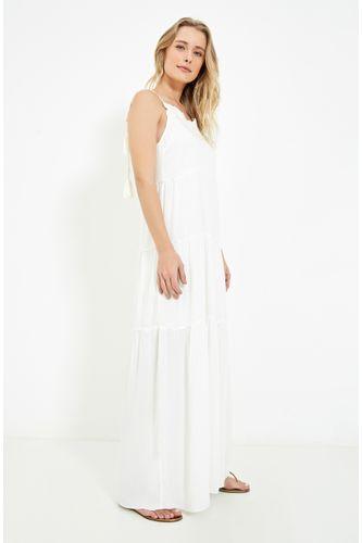 58ff6d7d68d Feminino - Roupas - Vestidos Ateen OFF WHITE – Moda it