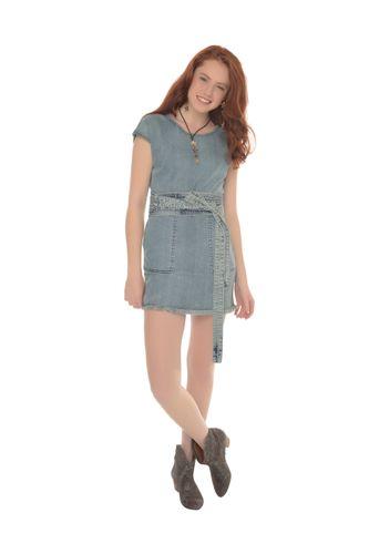 b7984f033 Jeans em Feminino - Roupas - Vestidos Rosa Chá – Moda it
