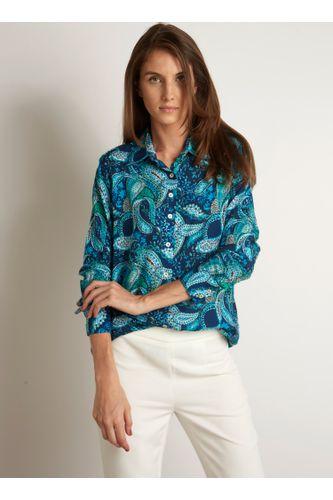 e2b10ee7f55 Feminino - Roupas - Blusas - Camisa Dudalina AZUL – Moda it
